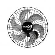 Ventilador de Parede Loren Sid Tufao 3 Pas 50cm Preto - 127/220v