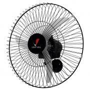 Ventilador de Parede Ventidelta Ventura 3 Pás 60cm Preto - 127/220v