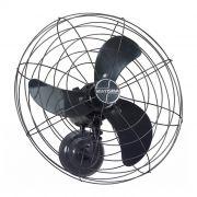 Ventilador de parede 65cm 127/220v c/ ajuste de veloc. preto ventisilva mod.vpl