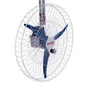 Ventilador de Parede Roster a-03 360º 3 Pás 100cm Azul - 127/220v
