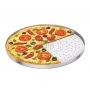 Forma De Pizza Com Fundo Perfurado ABC