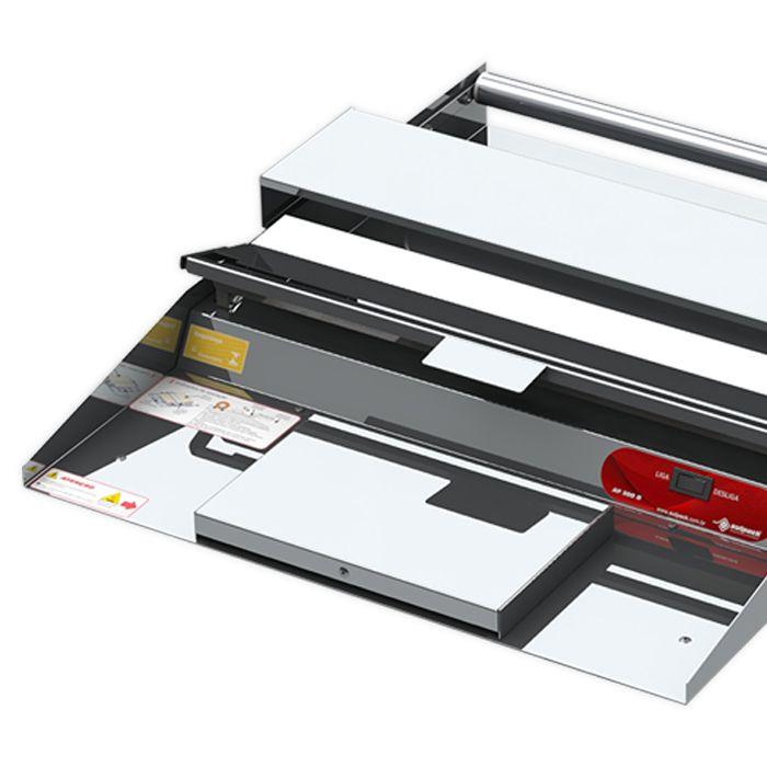 Aplicador de filmes 45cm inox sulpack 127v barra quente mod. af-500b 1112-011