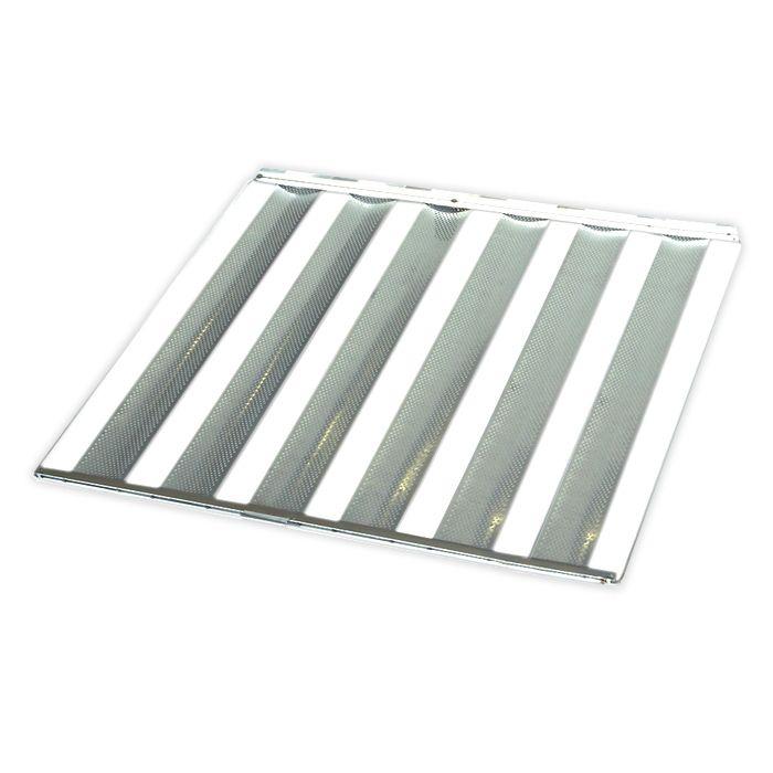Assadeira 58x70 esteira 6 talas imeca classic perfurada (aluminio) ref.2537