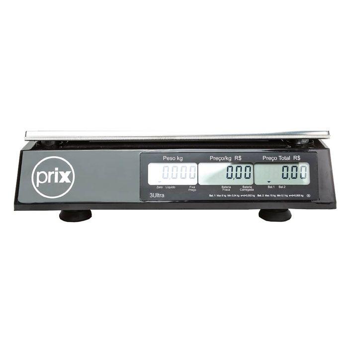 Balanca comput. 15kg c/bat. s/saida 127/220v toledo prix-iii ultra ref. p300040