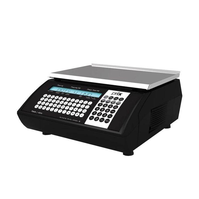 Balanca comput. 15kg com impress. 127/220v toledo prix-4 uno mod.cabo p-102