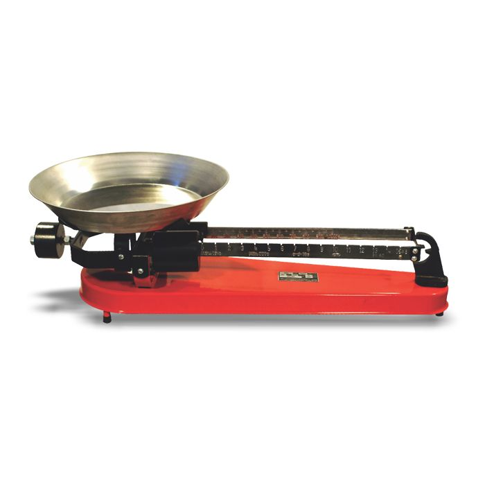 Balanca mecanica 16kg semi-roberval prato inox cauduro mod. f-62 sr/ inox