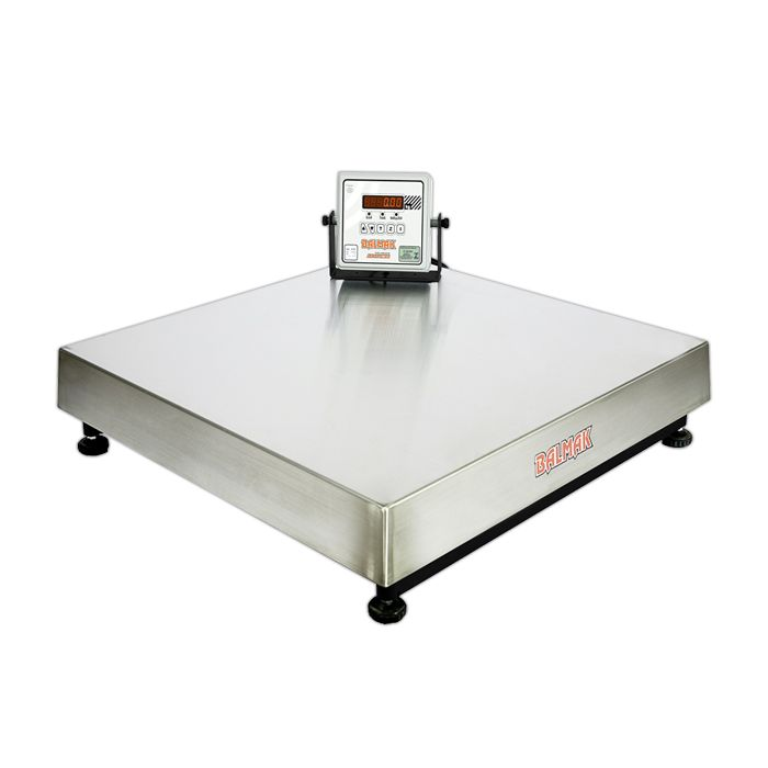 Balanca plataforma elet. 150kg 50x50cm balmak 127/220v mod.bk-50i1 s/col.pa0192
