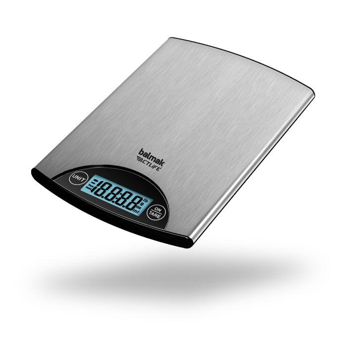 Balanca precisao digital cap. 5kg x 1gr balmak superinox-5 sks760 ref.9905/0142