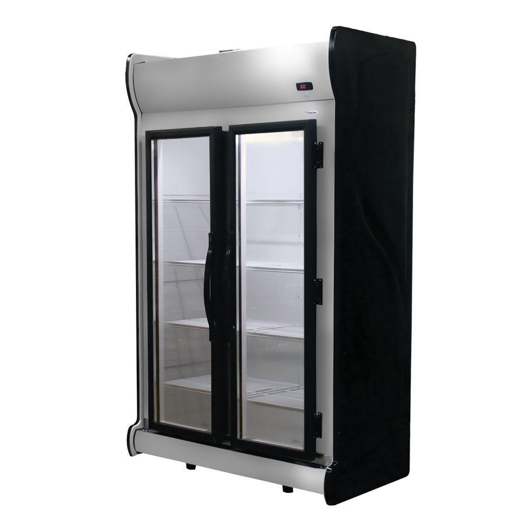 Expositor Refrigerado Auto Serviço Vertical Fricon Frost Free Preto ACFM1000 - 220v