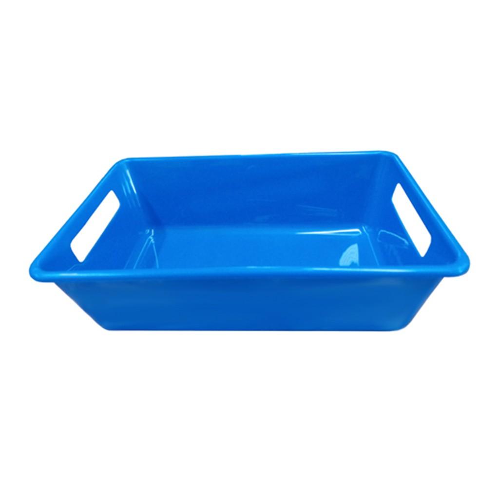 Bandeja Azul 3L 8,5x18,5x29cm Della Plast