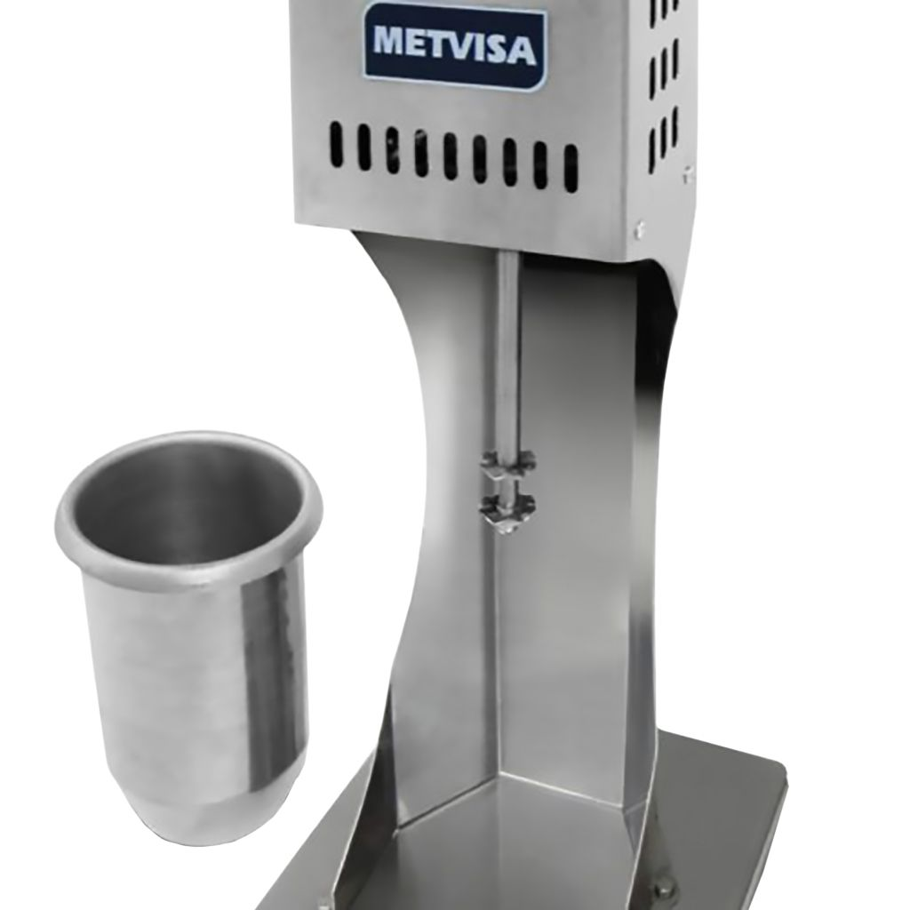 Batedor de milk shake visa 220v corpo inox mod. bmk