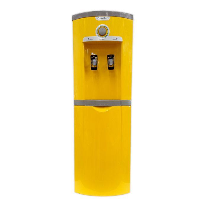 Bebedouro garrafao 20lt/hr 2 torn. amarelo esmaltec 127v mod. egc35b