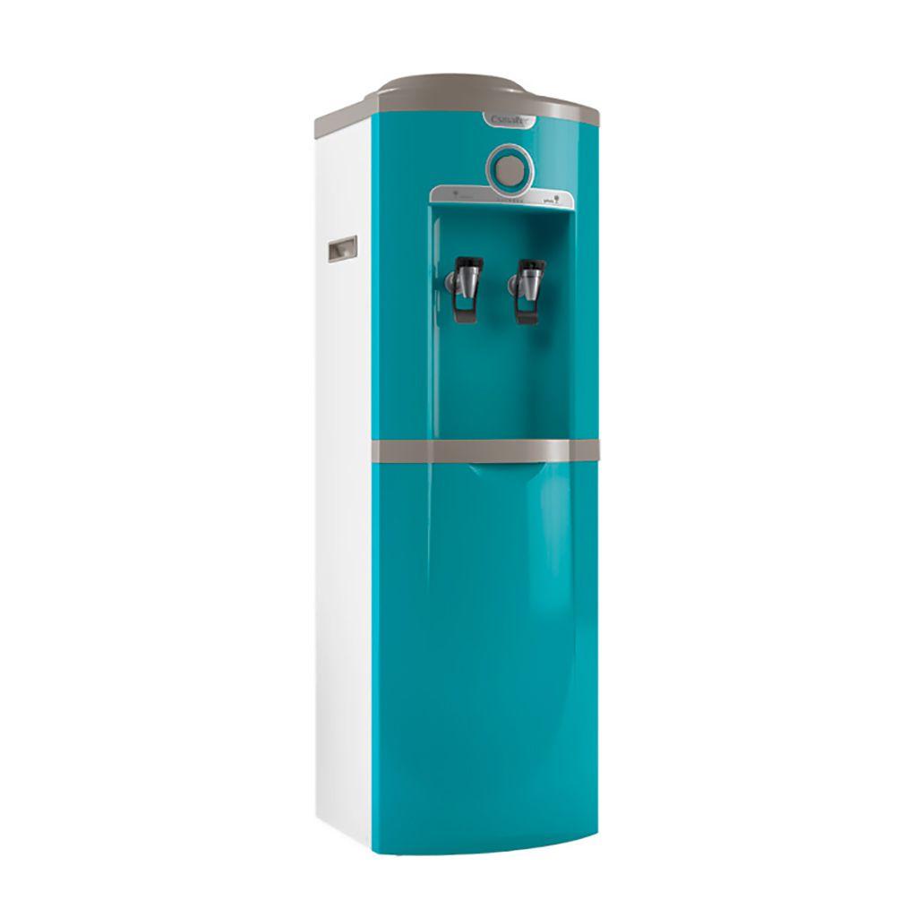 Bebedouro garrafao 20lt/hr 2 torn. azul turquesa esmaltec 127v mod. egc35b