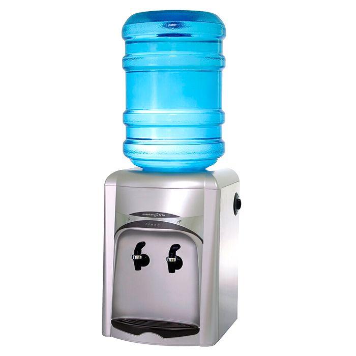 Bebedouro garrafao compacto 20lt/hr fresh inox prata masterfrio 127v 51723