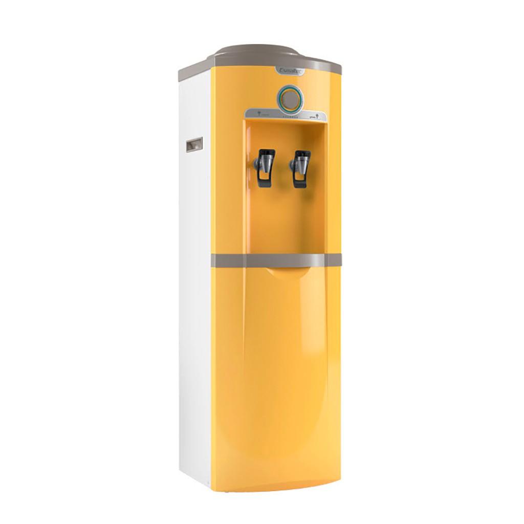 Bebedouro Garrafão de Coluna Esmaltec  Amarelo Egc35b - 127v