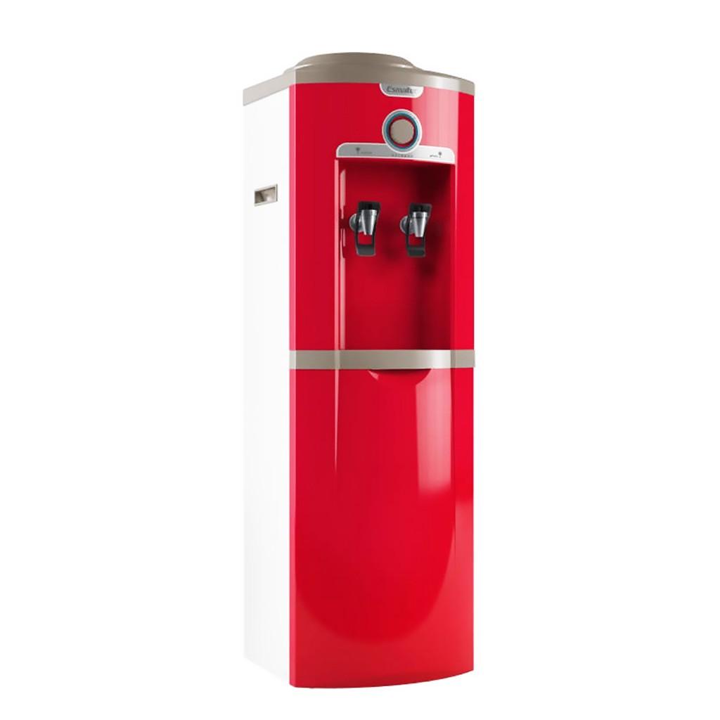 Bebedouro Garrafão de Coluna Esmaltec Vermelho Egc35b - 127v