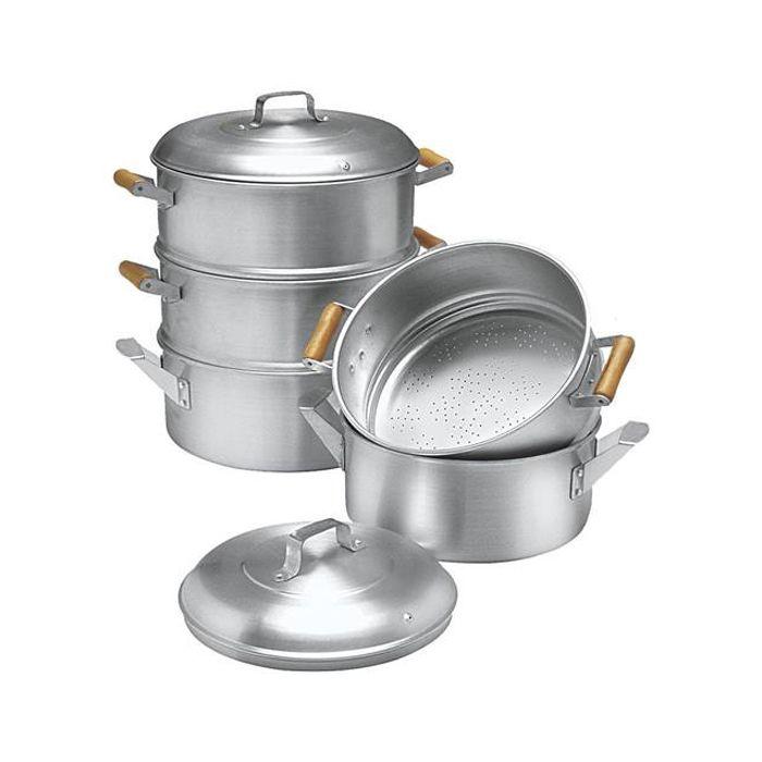 Cacarola a vapor em aluminio 32 x 2 abc ref. 407 / 1097