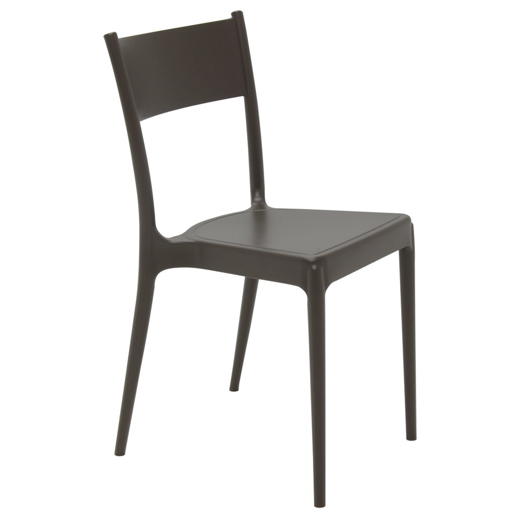 Cadeira Em Polipropileno Diana ECO Summa 82x41,5x49cm Tramontina - Marrom