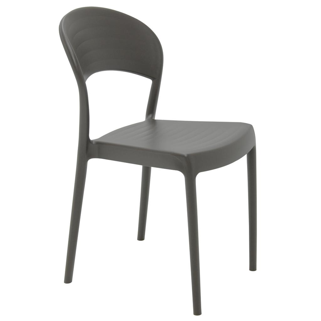 Cadeira Em Polipropileno Sissi ECO 80x43,5x52,5cm Tramontina - Marrom