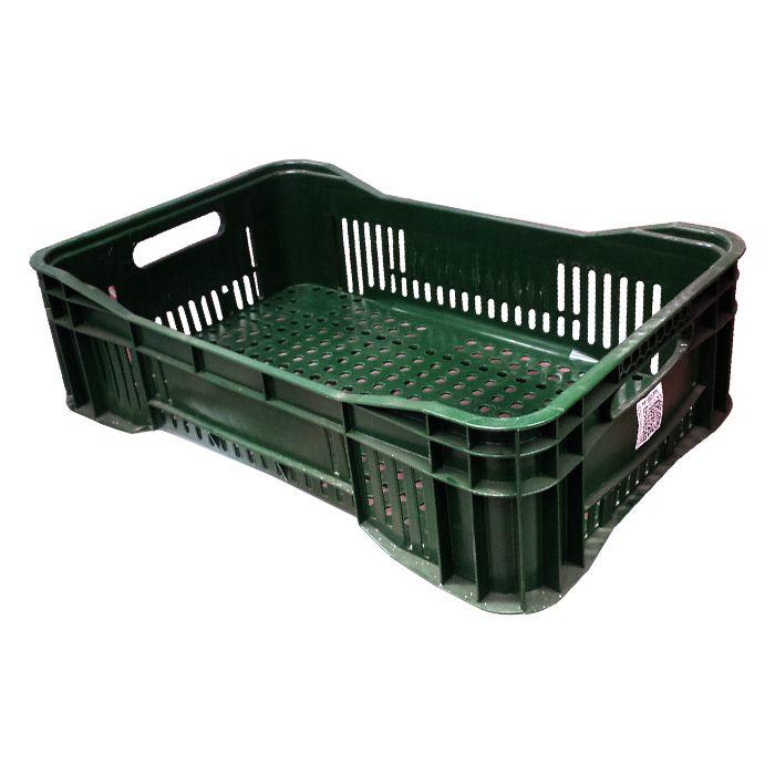 Caixa 25lt p/ uso geral verde a15 x l40 x c50 cm mercoplasa ms15 ref.10305/dz21