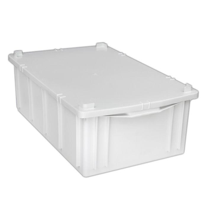 Caixa 39,5lt p/ uso geral branca a21x l38,5 x c62 cm marfinite ref.1013