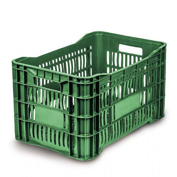 Caixa 46lt p/ uso geral verde a31,5 x l36 x c55,6 cm mercoplasa ms-10/ 11/ 60l