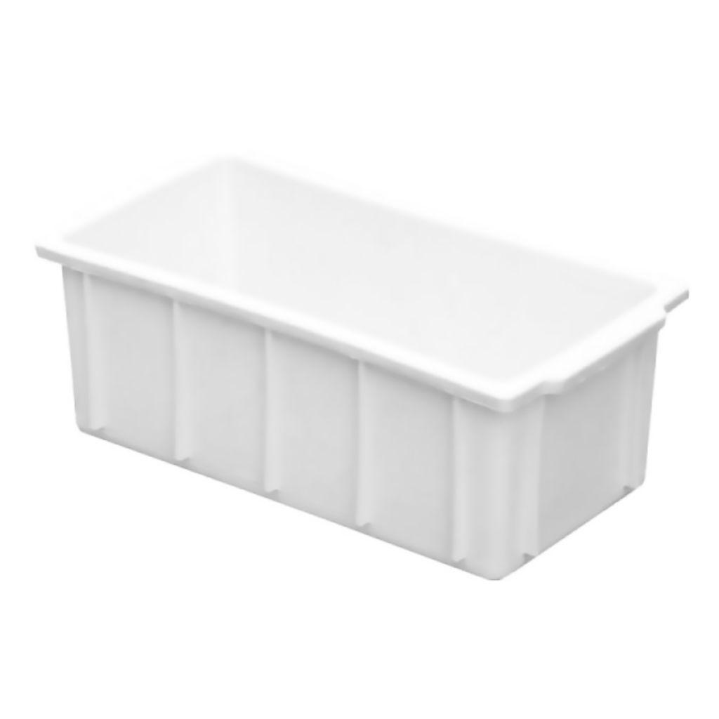 Caixa Plástica 4,2L 12x16x31cm Marfinite Branca