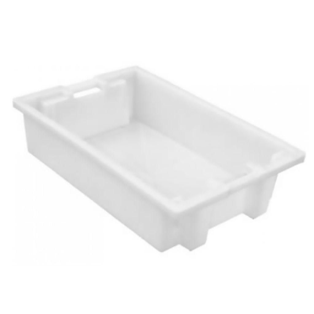 Caixa Plástica 56,5L 20x47x84cm Marfinite Branca