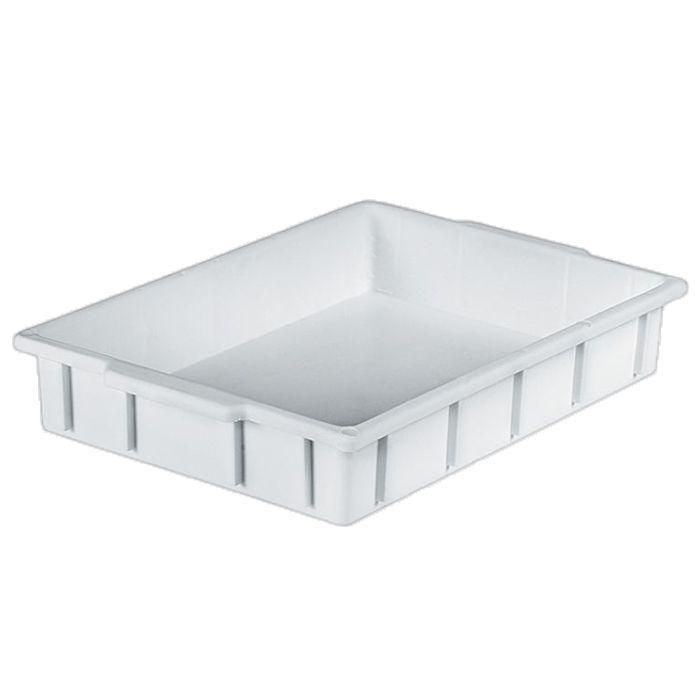 Caixa 6lt p/ uso geral branca a7 x l30 x c42 cm mercoplasa ms-04 ref. 12503