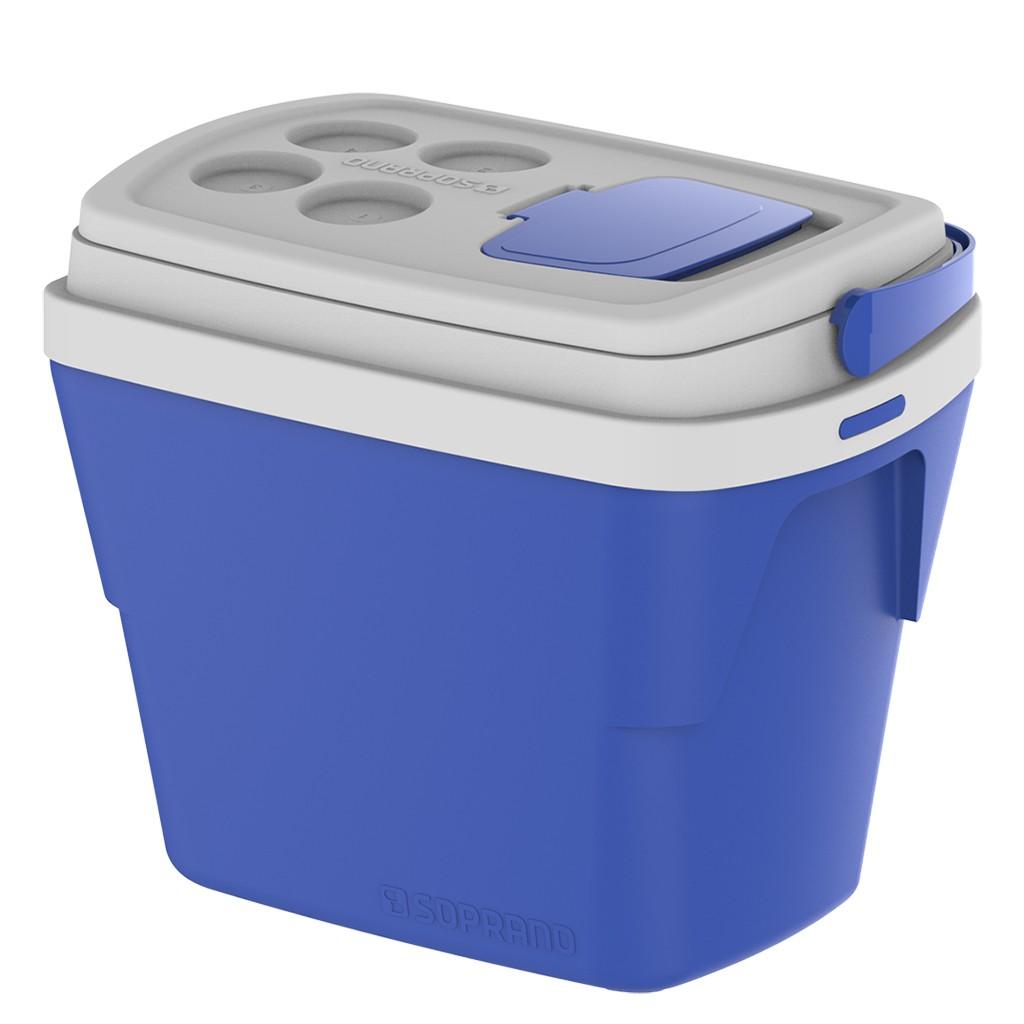 Caixa Térmica 28L Azul Soprano