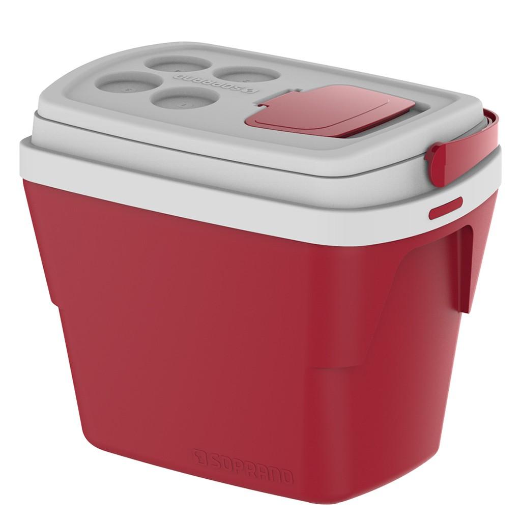 Caixa Térmica 28L Vermelho Soprano