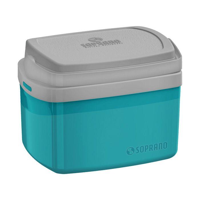 Caixa termica   5lt soprano cor azul ref. 09003.5060.55