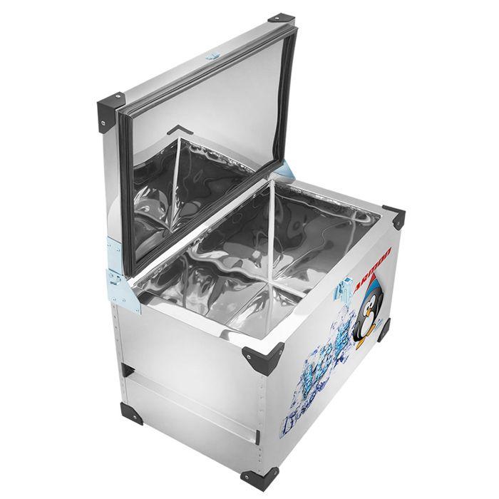 Caixa termica c/ revestimento interno em inox 140lt armon mod tmi-140/ 9234