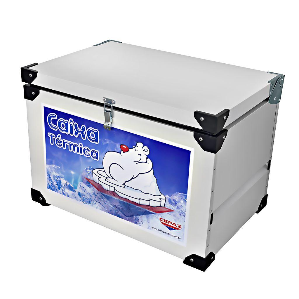 Caixa Térmica 35L Interno em Inox Cefaz CTI-35