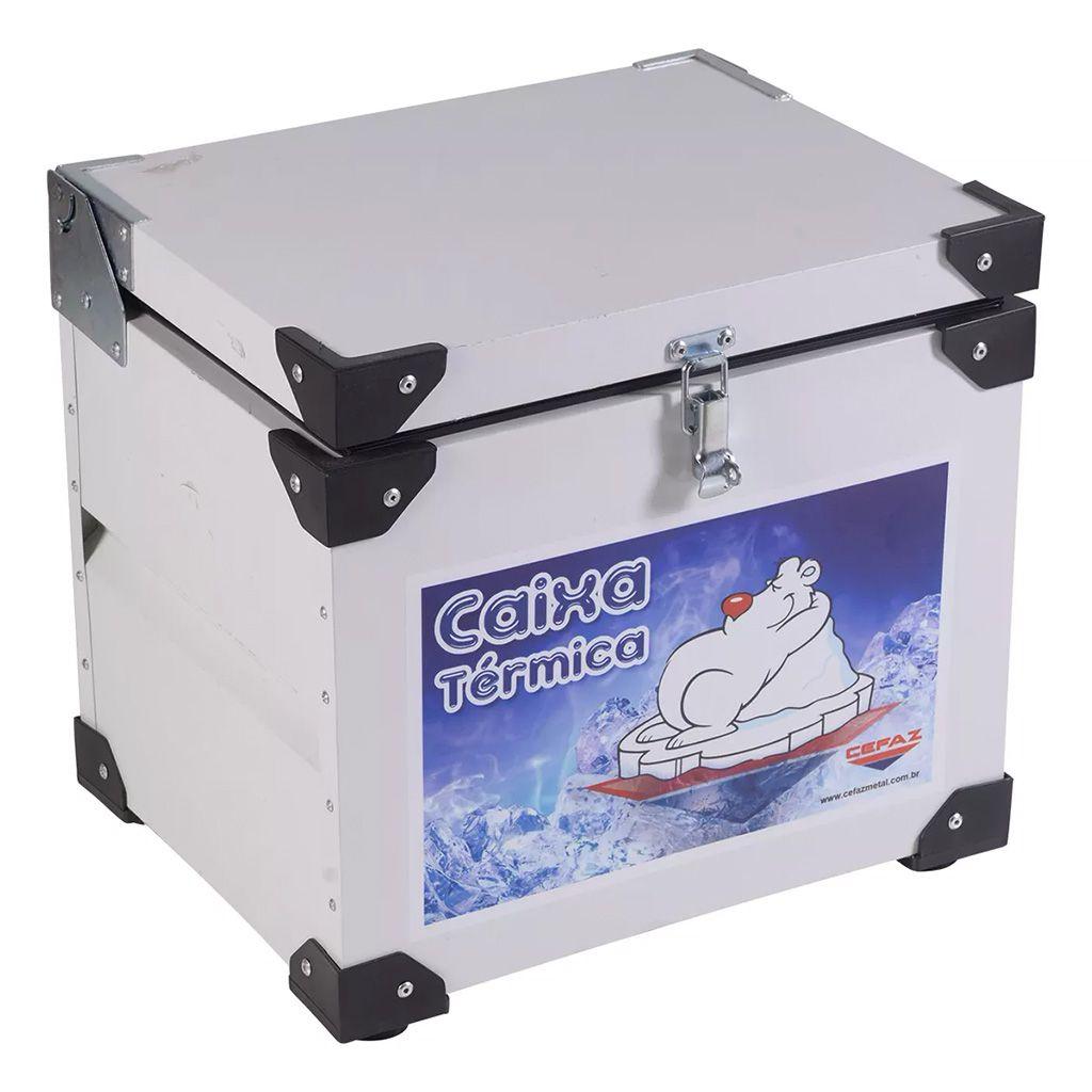 Caixa Térmica 64L Interno em Inox Cefaz CTI-75