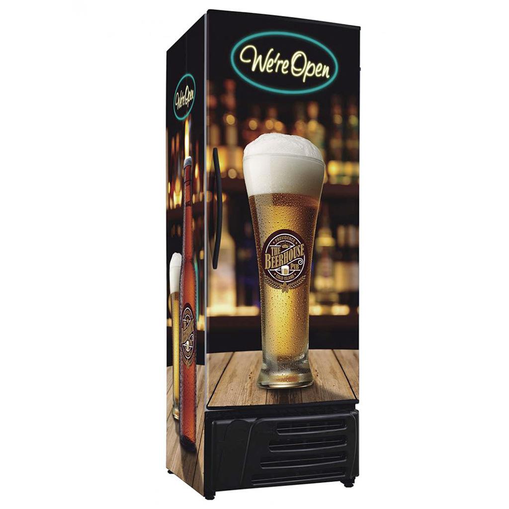 Cervejeira Frilux 550L RF-017 Pub Porta Cega - 127V