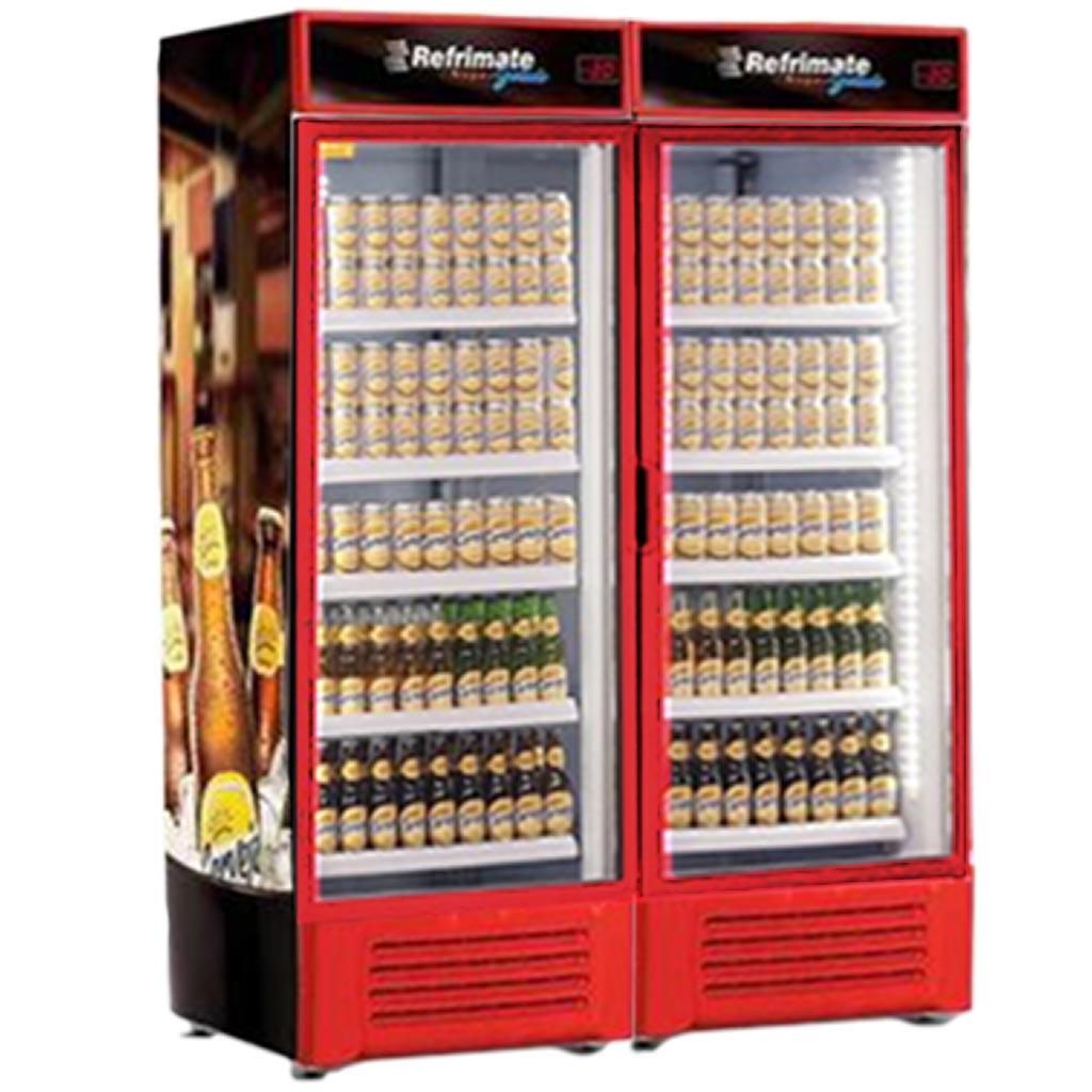 Cervejeira Refrimate 1300L VCC 1300 V Vermelho - 127V