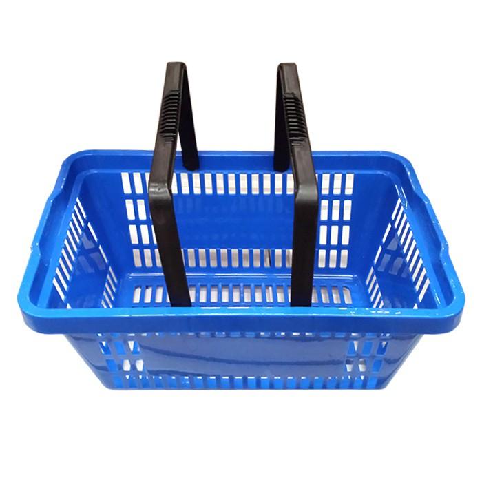 Cesta Plástica Para Mercados 6,5L Della Plast Azul