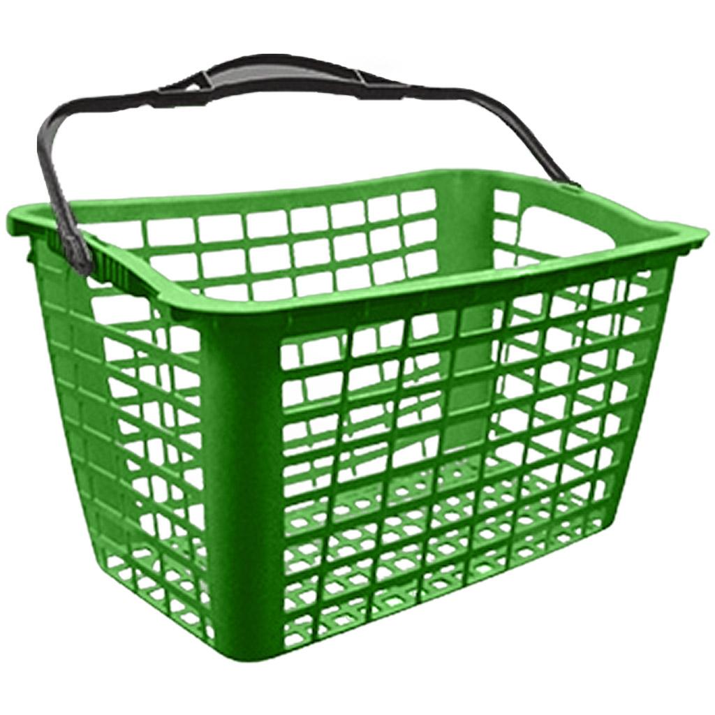Cesto de Compras para Supermercado 12,5L Verde - Siris