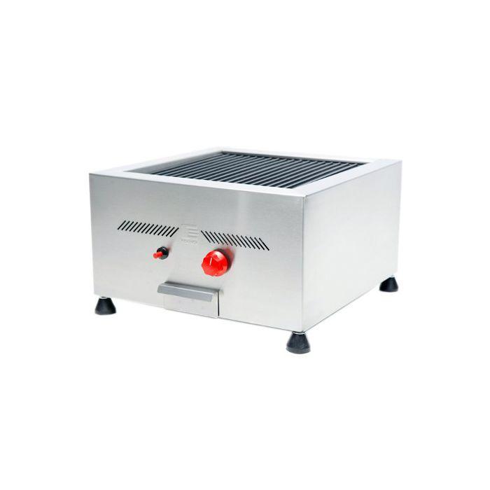 Char broiler a gas 50 x 50 cm 2 queimadores edanca mod. cbr 50