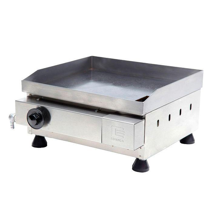Churrasqueira a gas edanca serie prata 40 cm 1 queimador  mod.cgp-40 10203024