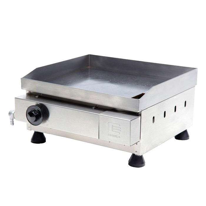Churrasqueira a gas   40 cm edanca 1 queim. serie prata mod. cgp-40 10203024