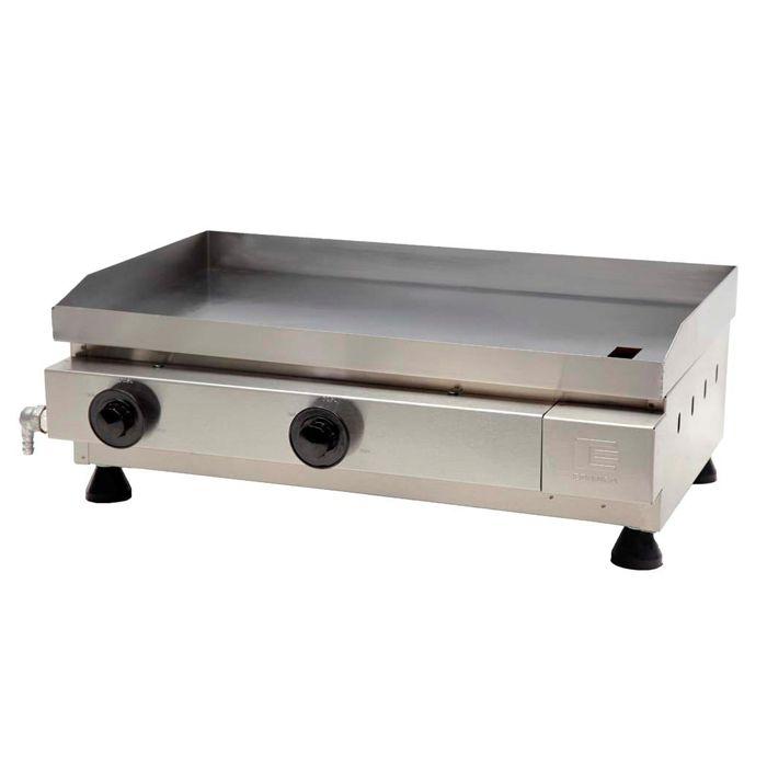 Churrasqueira a gas edanca serie prata 60 cm 2 queimadores mod. cgp-060