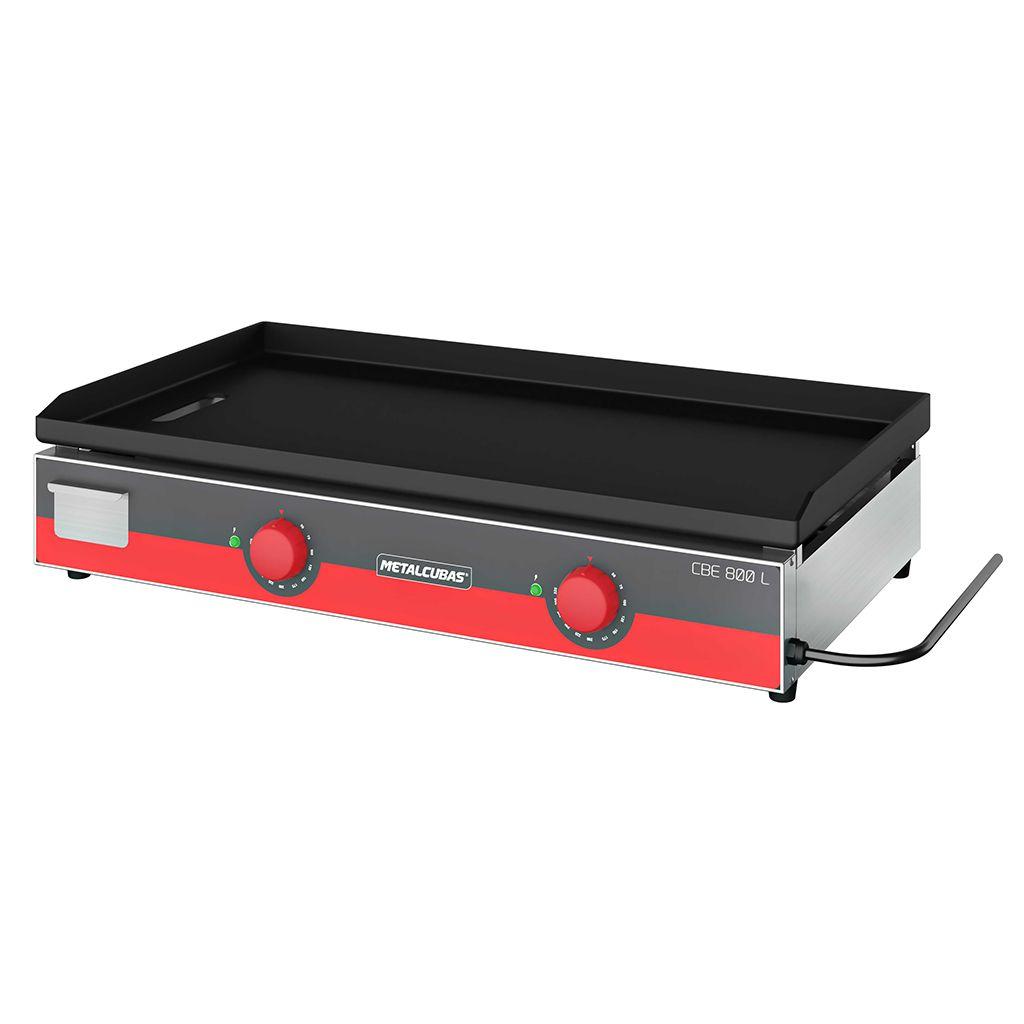 Chapa Bifeteira Elétrica 80cm 2 Queimadores Metalcubas CBE 800 - 220v