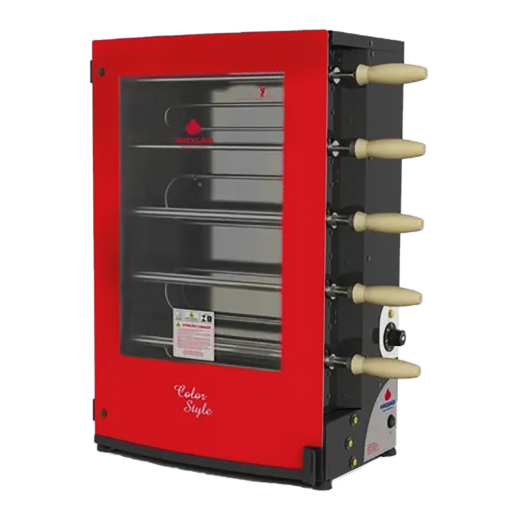Churrasqueira Rotativa Elétrica PRR-051 Style Progás