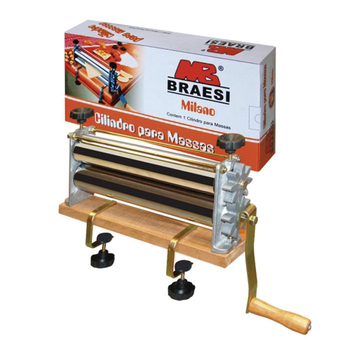 Cilindro p/ massas manual braesi 30cm milano mod. bcmm300 ref. b6451