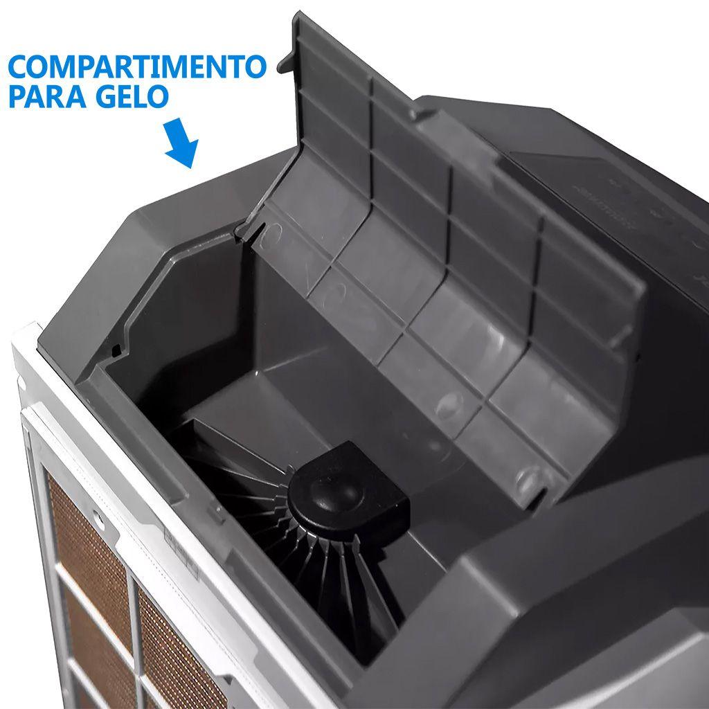 Climatizador portatil climat 127v 1.000 m3/hr mod. clm-20rt