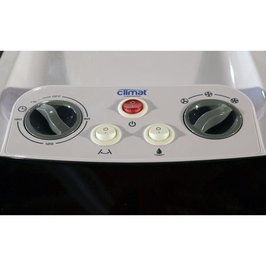 Climatizador de ar portatil climat 127v 1.500 m3/hr mod. clm-25rt