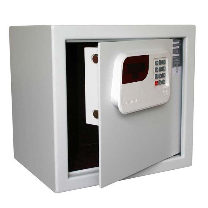 Cofre Eletrônico Com Senha Techner S36-ECD Branco - 36x38x30cm