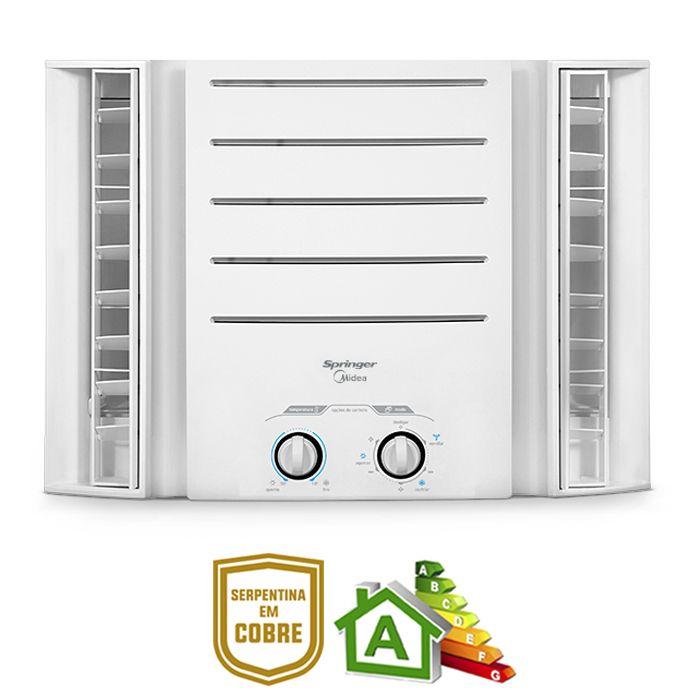 Condicionador de ar springer   7.500 btu`s duo 220v mod. qci075bb